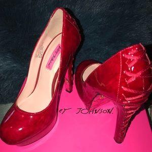 Sexy Red Betsy Johnson